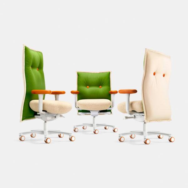 Schreibtischstuhl mit brasilianischem Design von LÖFFLER