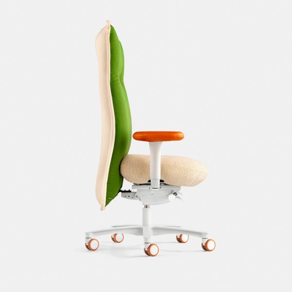 lebendiger Design-Drehstuhl mit vielen Funktionen